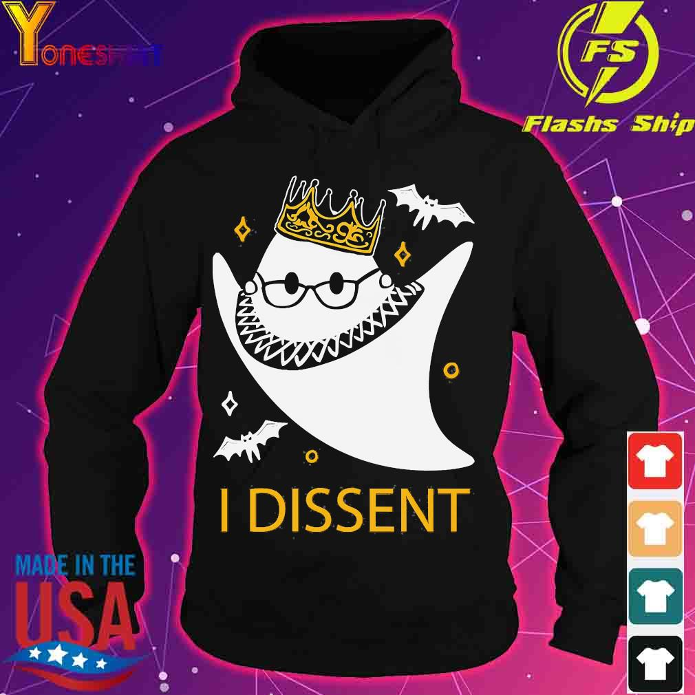 Halloween Ruth Bader Ginsburg I dissent s hoodie