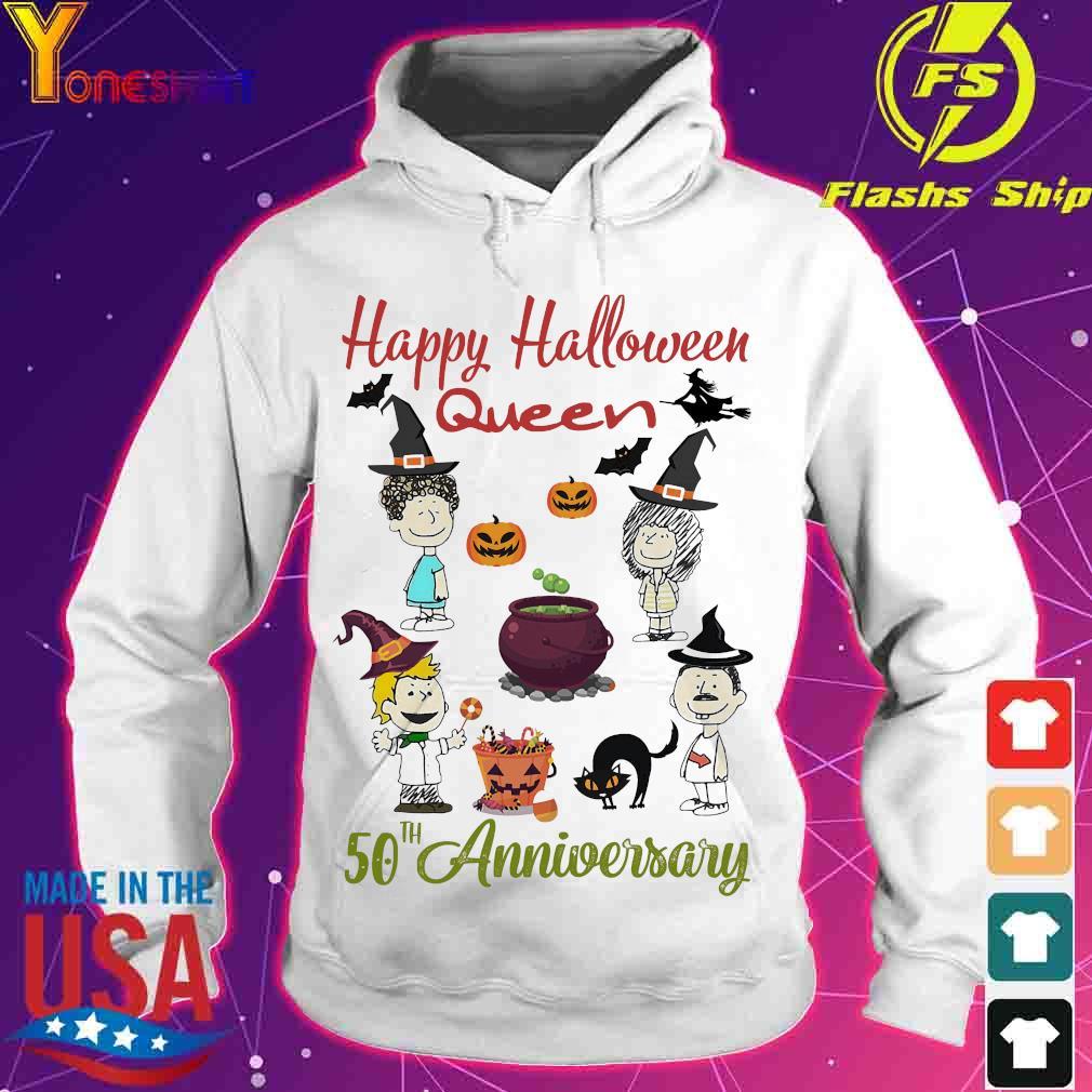 Happy halloween Queen 50th anniversary s hoodie