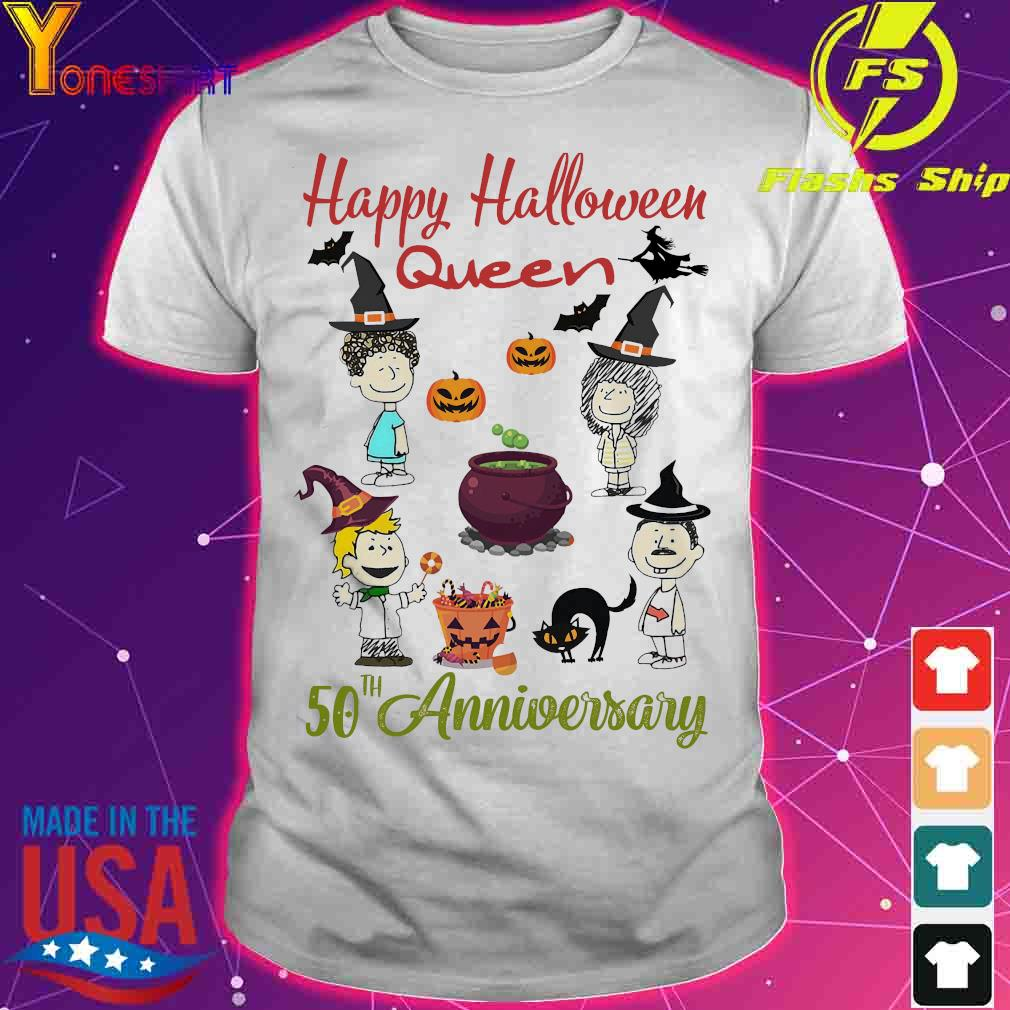 Happy halloween Queen 50th anniversary shirt