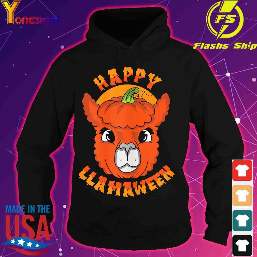 Happy Llamaween pumpkin s hoodie