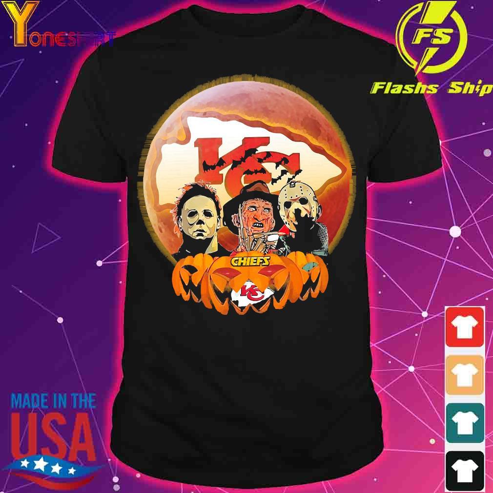 Horror character halloween Chiefs shirt