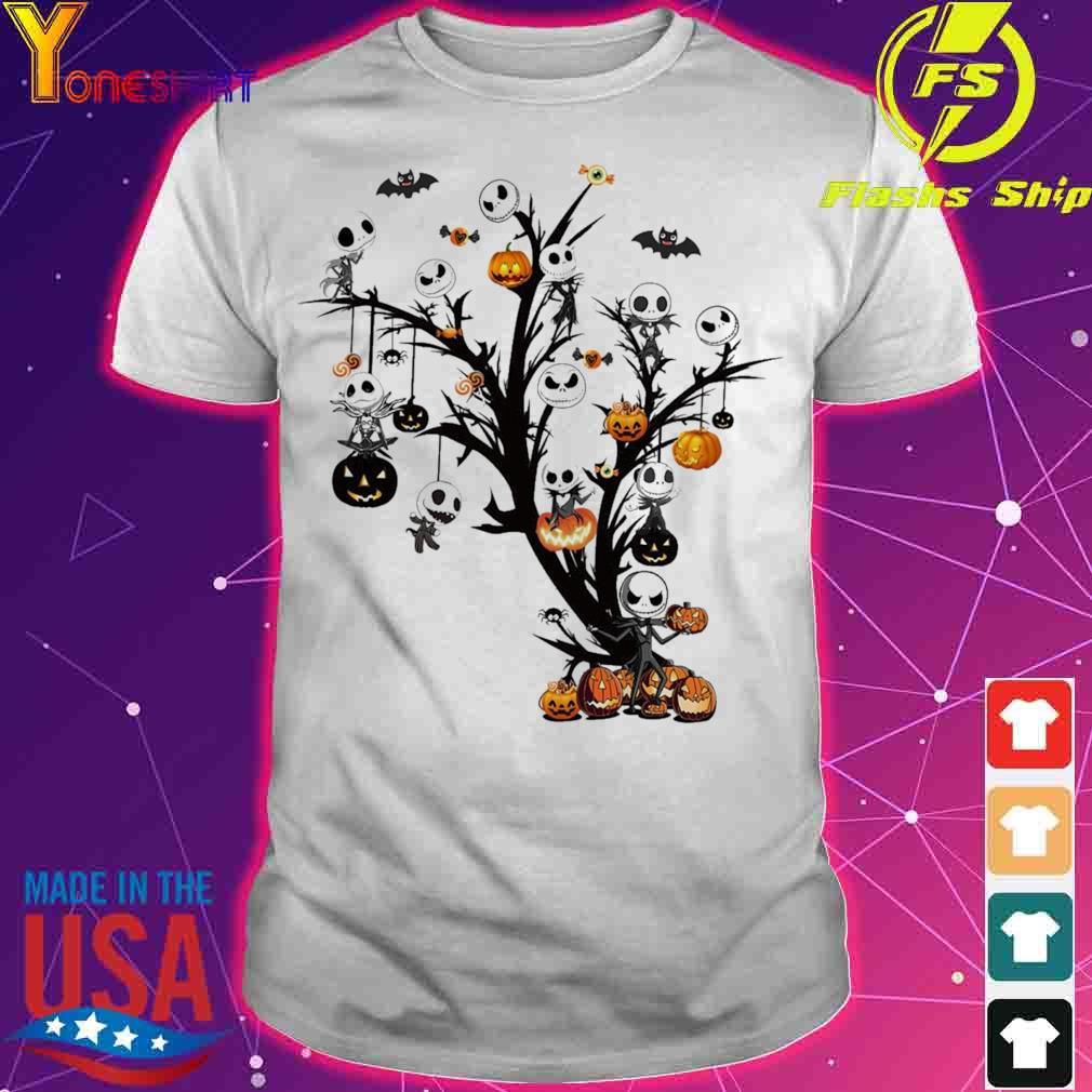 Jack Skeleton Halloween shirt