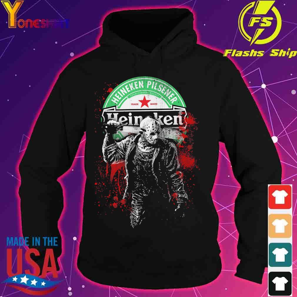 Jason Voorhees Heineken Pilsener s hoodie