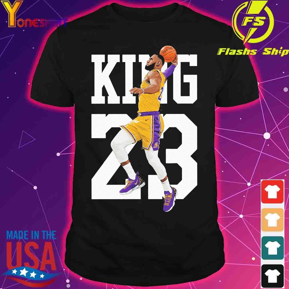 Lebron Jame King James 23 shirt