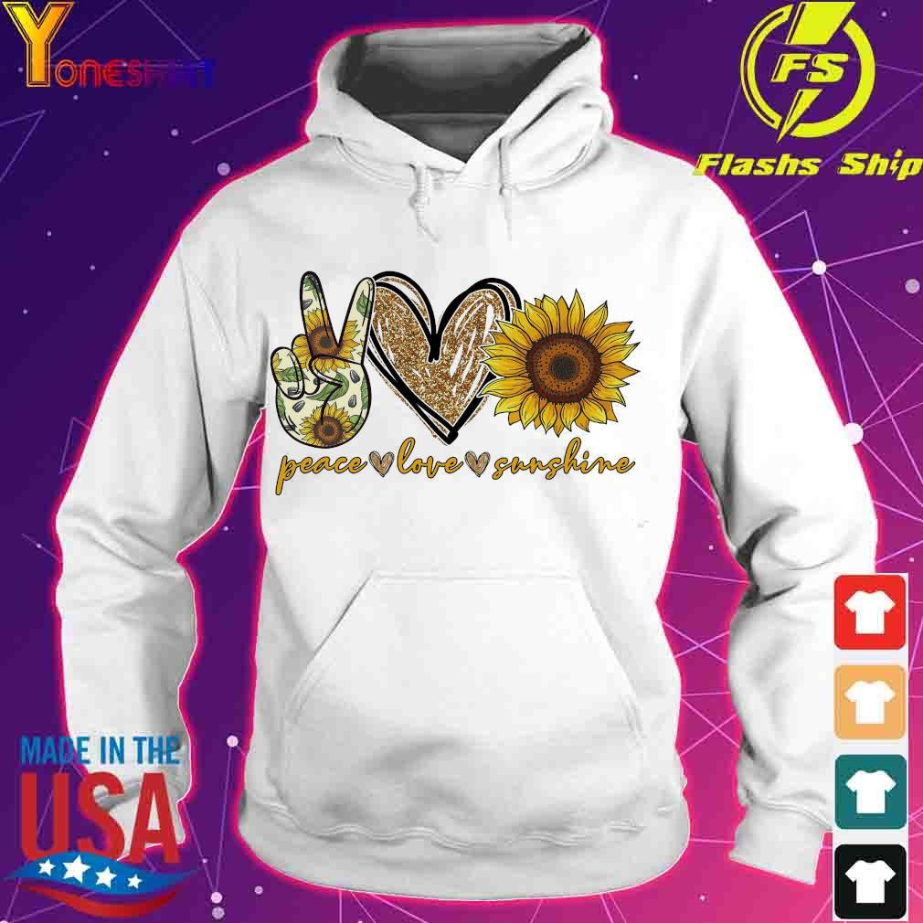 Peace love sunshine s hoodie
