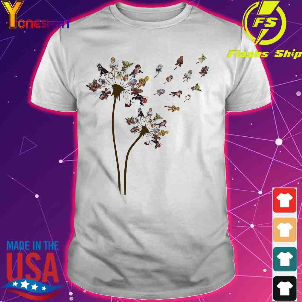 Star War Dandelion Flower Shirt