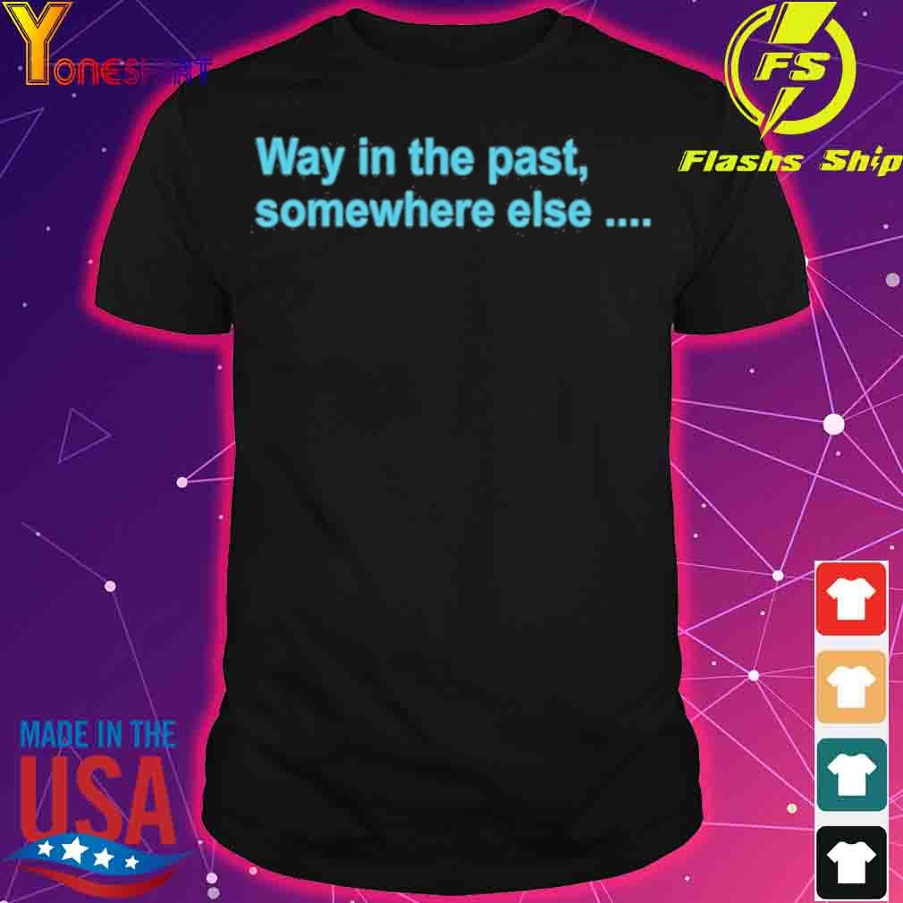 Achievement Hunter Animated Space Battle T Shirt Way In The Past SomeWhere Else Shirt