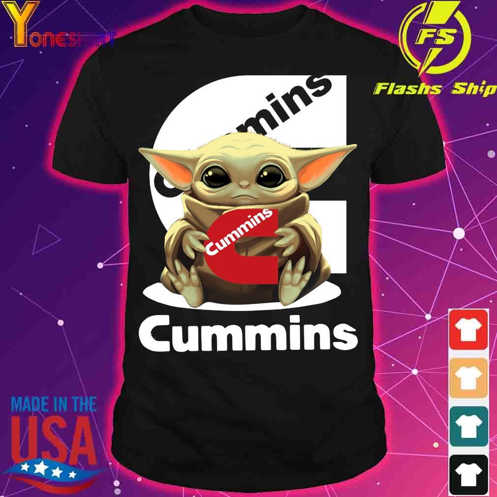 Baby Yoda Hug Cummins Shirt