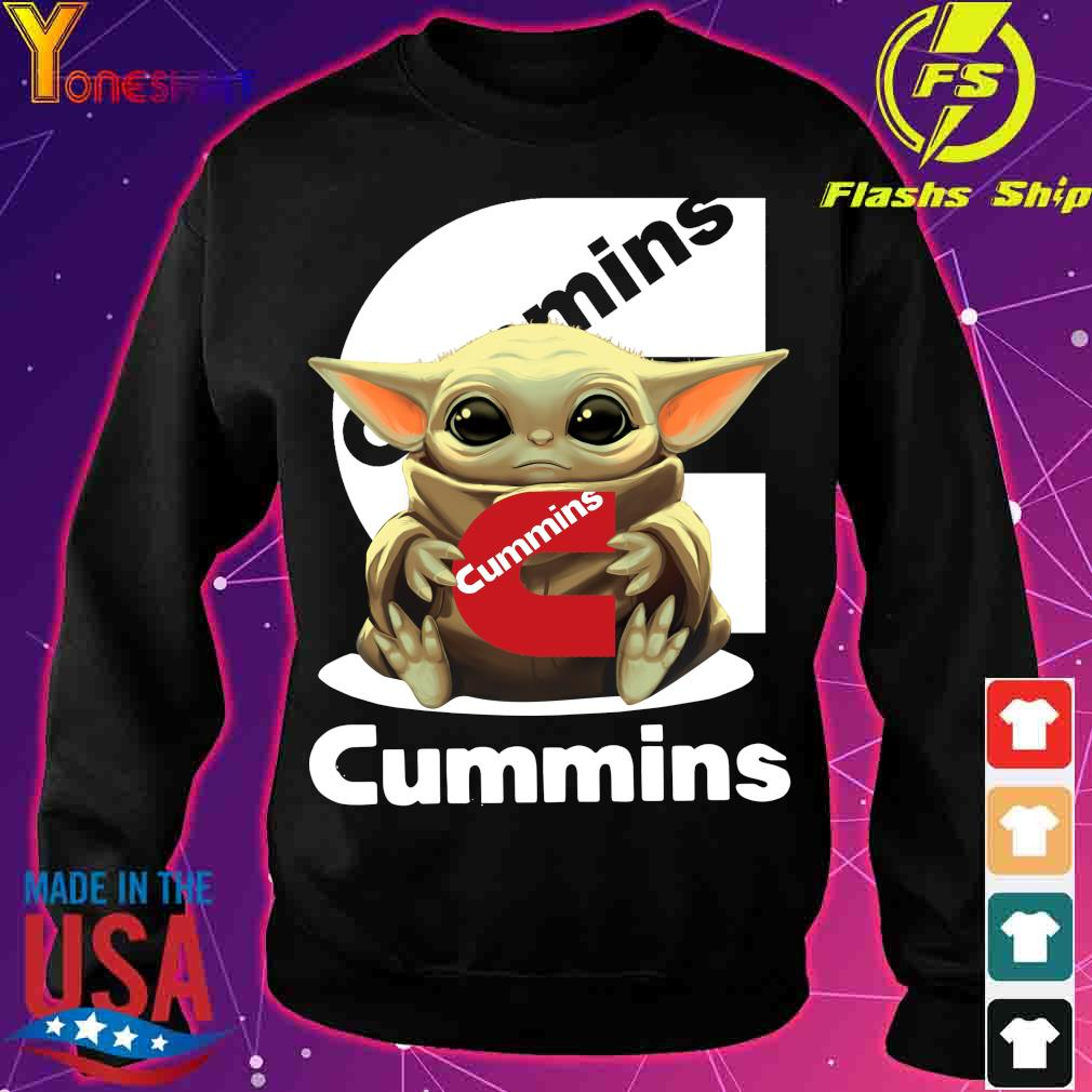 Baby Yoda Hug Cummins Shirt sweater