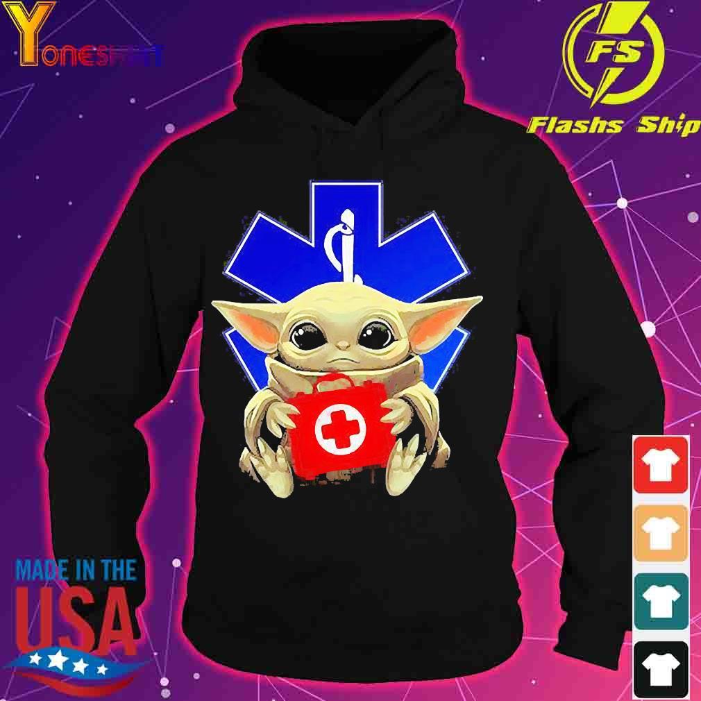 Baby Yoda Hug Star Of Life Shirt hoodie