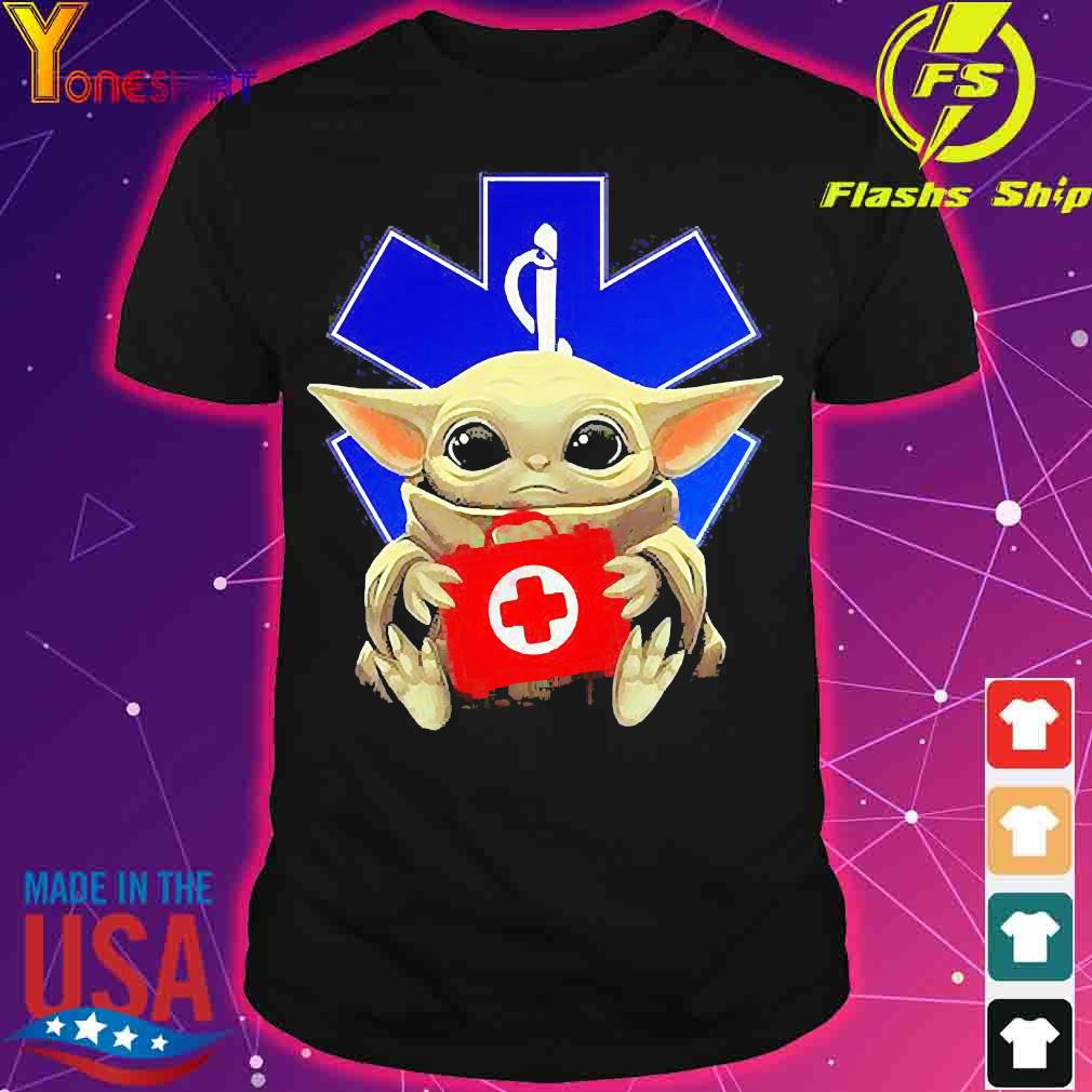 Baby Yoda Hug Star Of Life Shirt