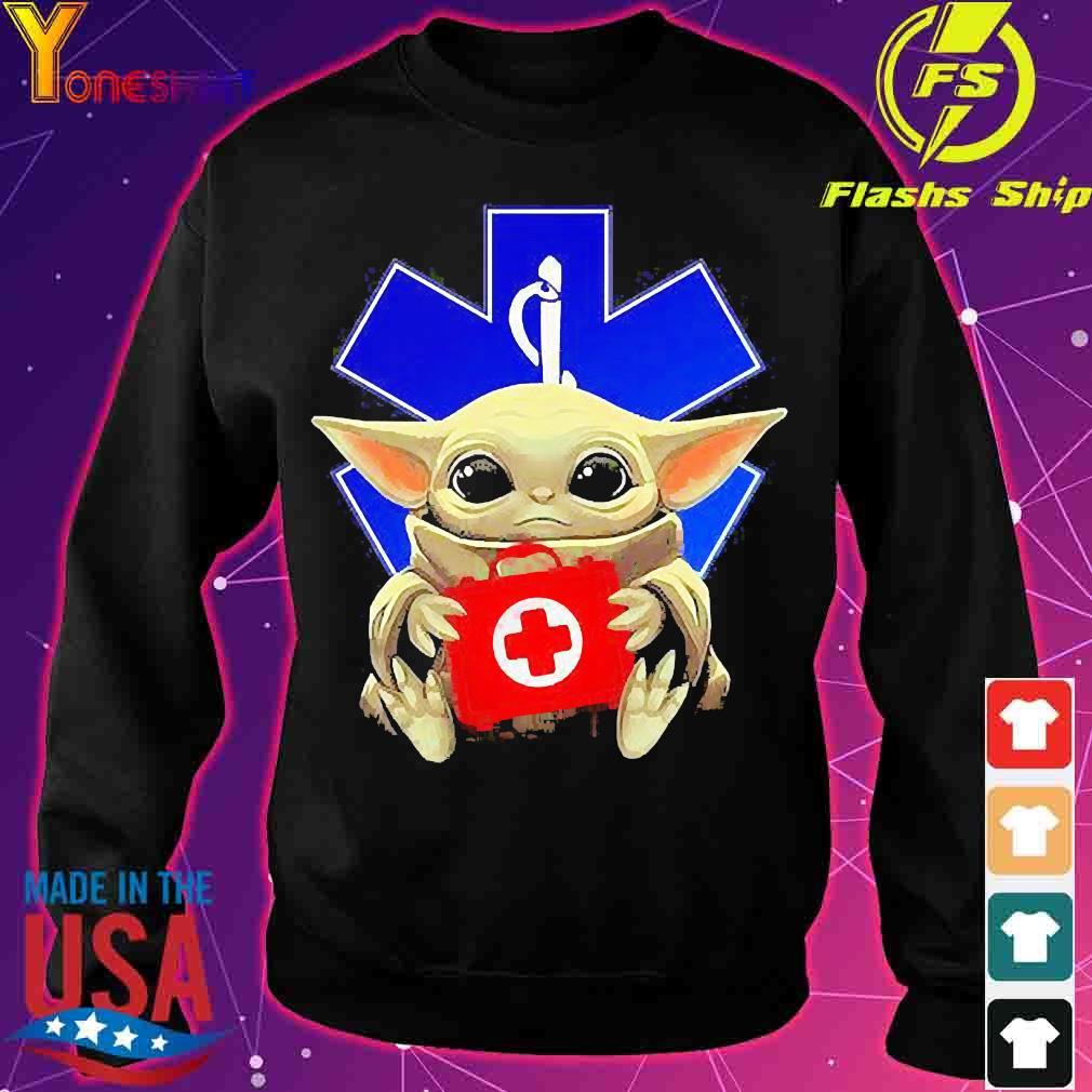 Baby Yoda Hug Star Of Life Shirt sweater