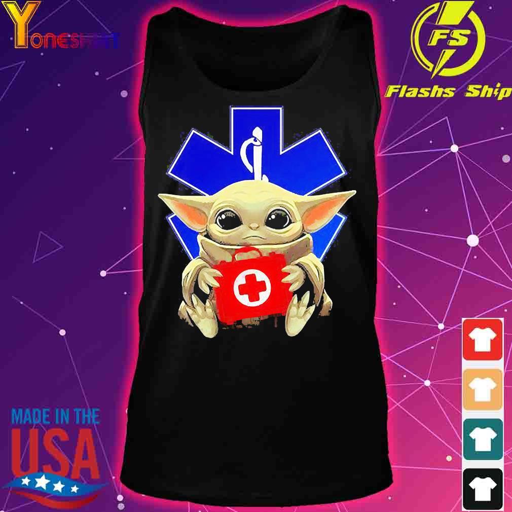 Baby Yoda Hug Star Of Life Shirt tank top