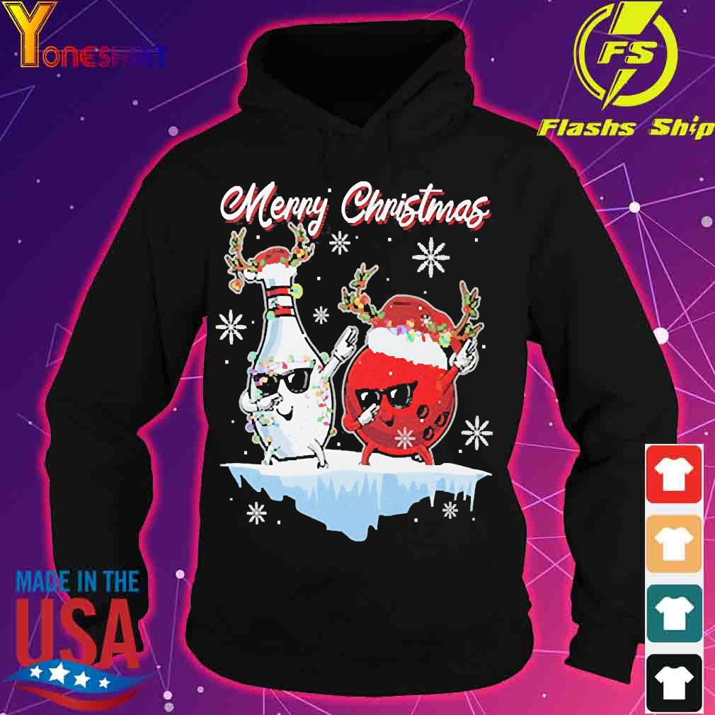 Bowling Merry Christmas Shirt hoodie