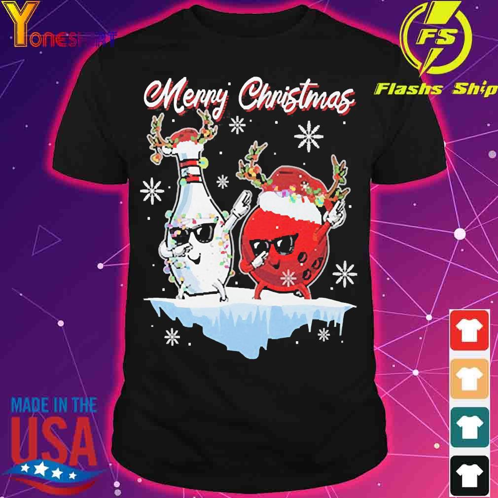 Bowling Merry Christmas Shirt
