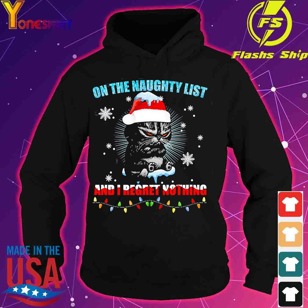 Cat agario on the naughty list and I regret nothing s hoodie