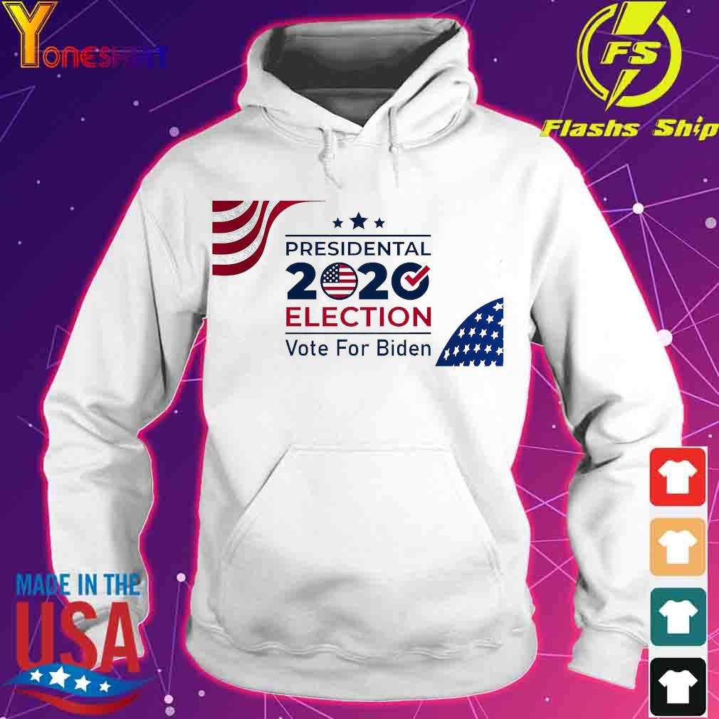 Presidential 2020 election vote for Biden American Flag s hoodie