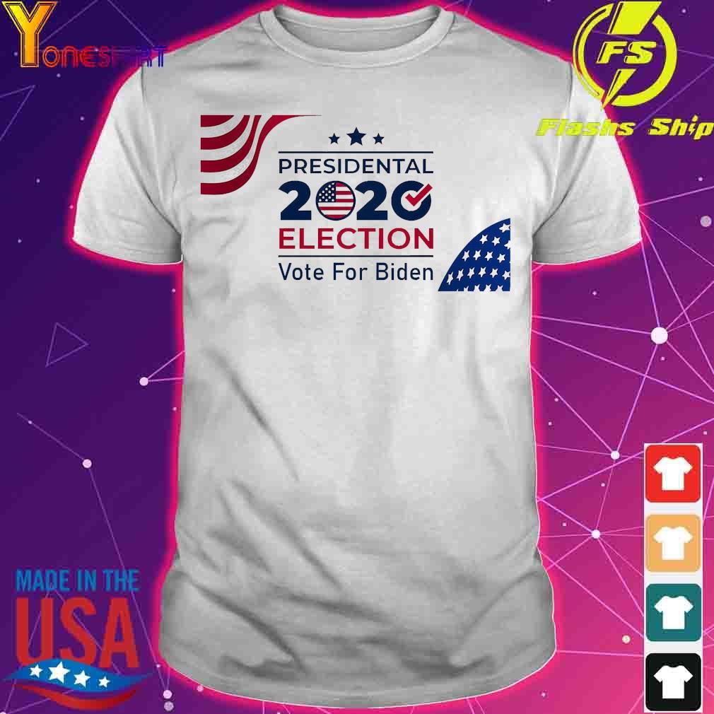 Presidential 2020 election vote for Biden American Flag shirt