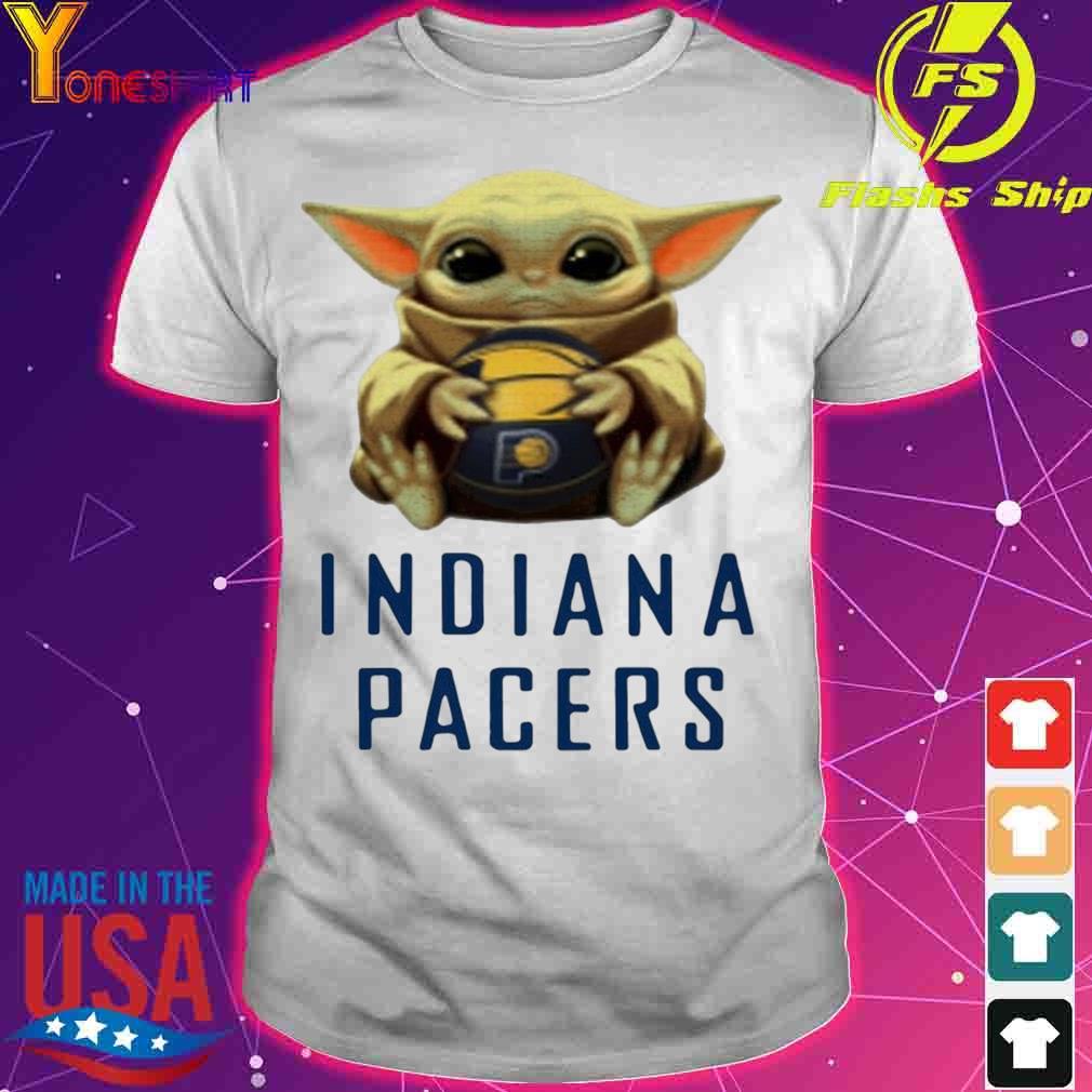 Official Baby Yoda Hug Indiana Pacers Shirt