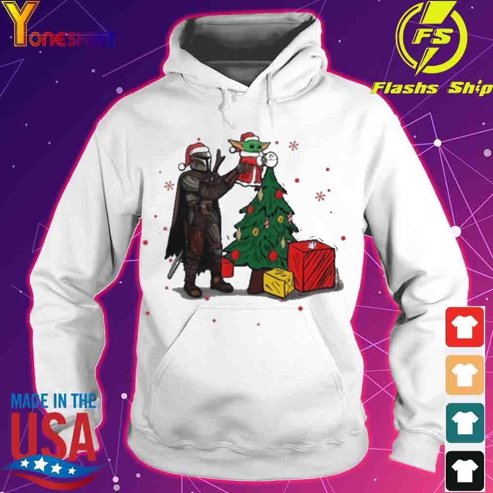Official Baby Yoda The Mandalorian Star Wars Christmas 2020 Christmas Shirt hoodie