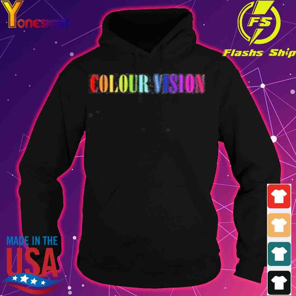 Official Colour Vision Embroidered Shirt hoodie