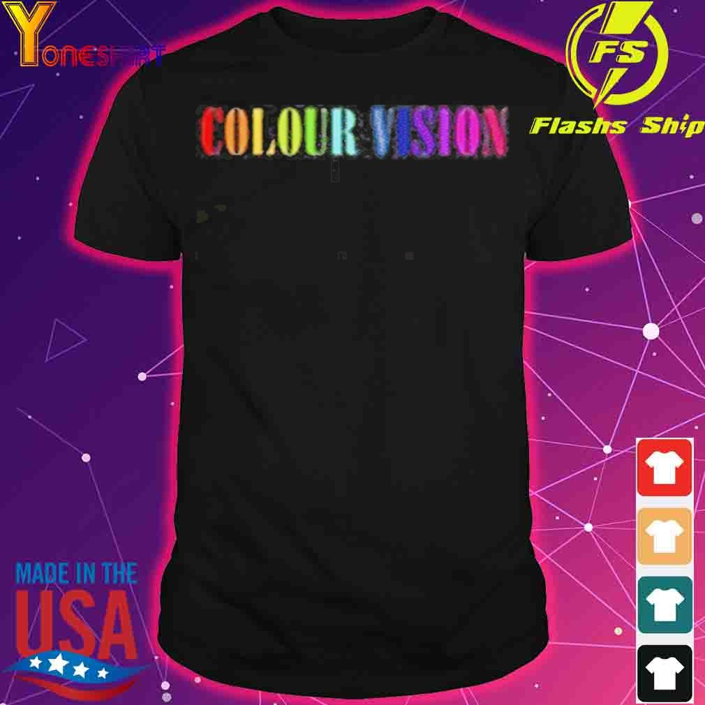 Official Colour Vision Embroidered Shirt