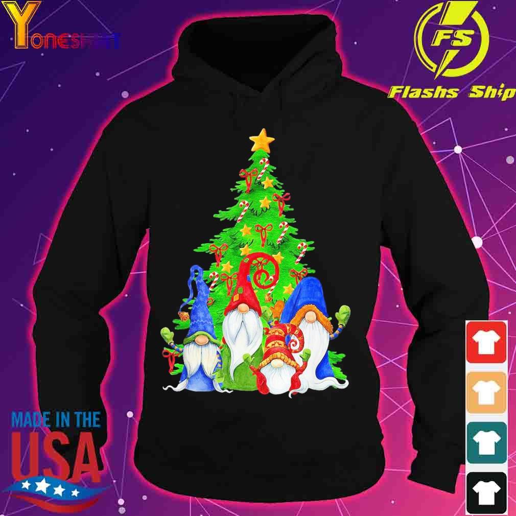 Official Gnomes Christmas Tree Shirt hoodie