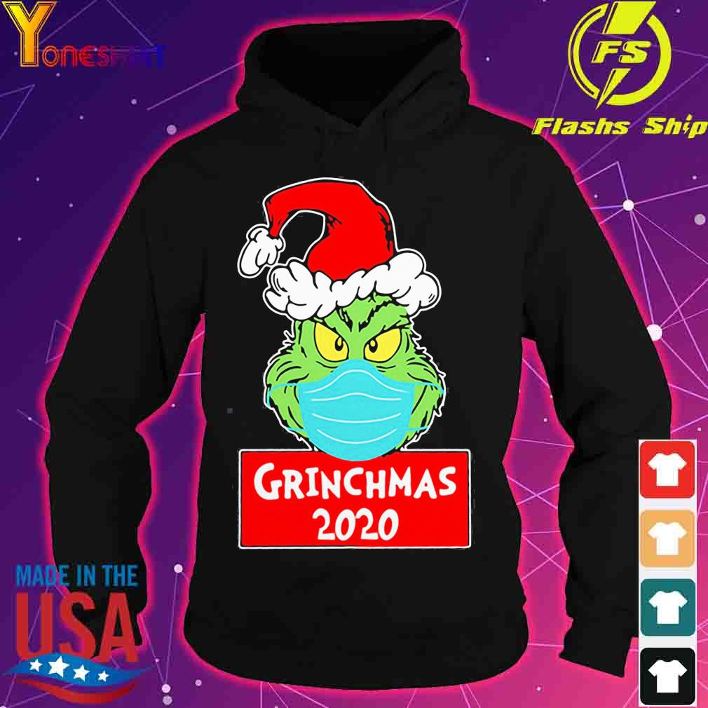 Official Grinch Face Mask Grinchmas 2020 Christmas Shirt hoodie