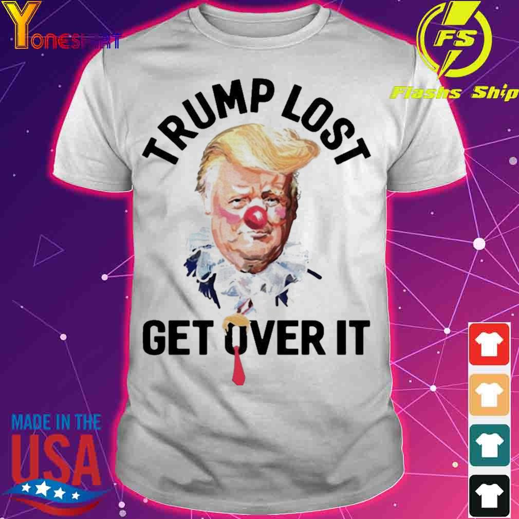 Official Trump Lost Biden Win Get Over It Presidential Race To White House 2020 Shirt