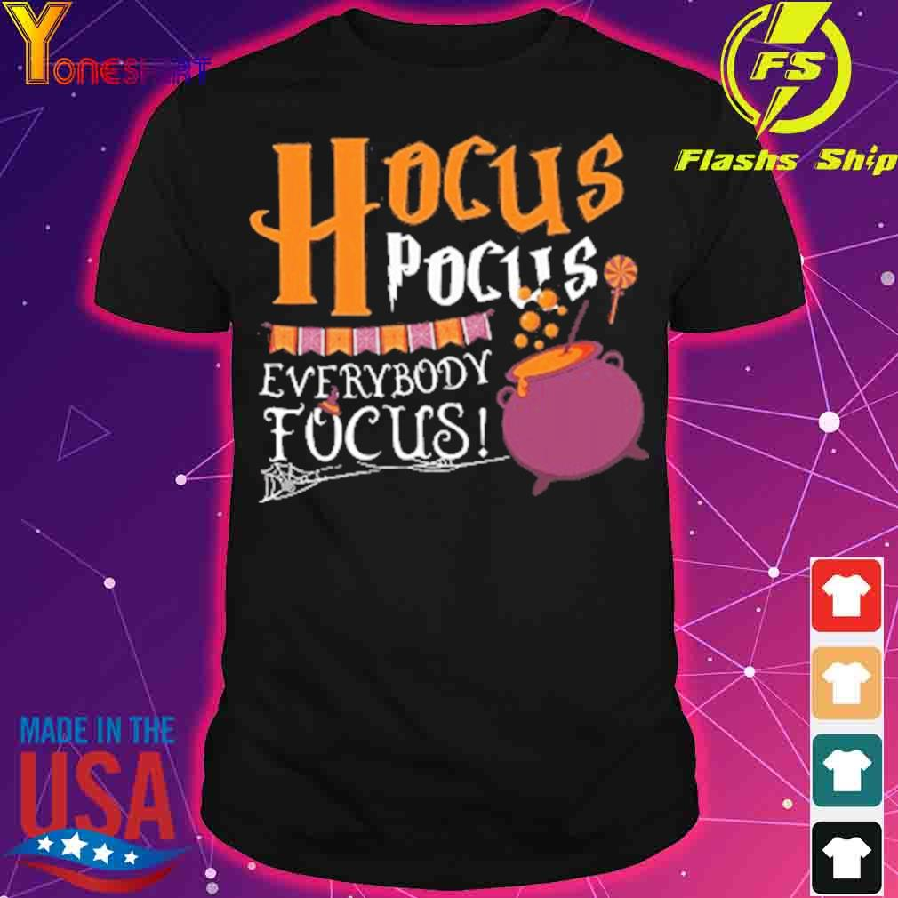 Official Hocus Pocus Everybody Focus Halloween Shirt