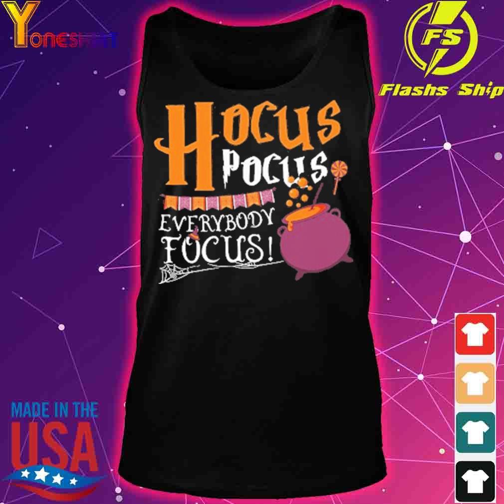 Official Hocus Pocus Everybody Focus Halloween Shirt tank top