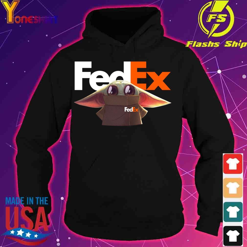 Baby Yoda Fedex Shirt hoodie