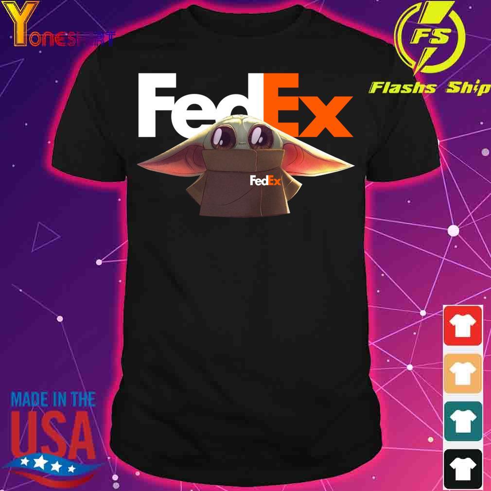 Baby Yoda Fedex Shirt
