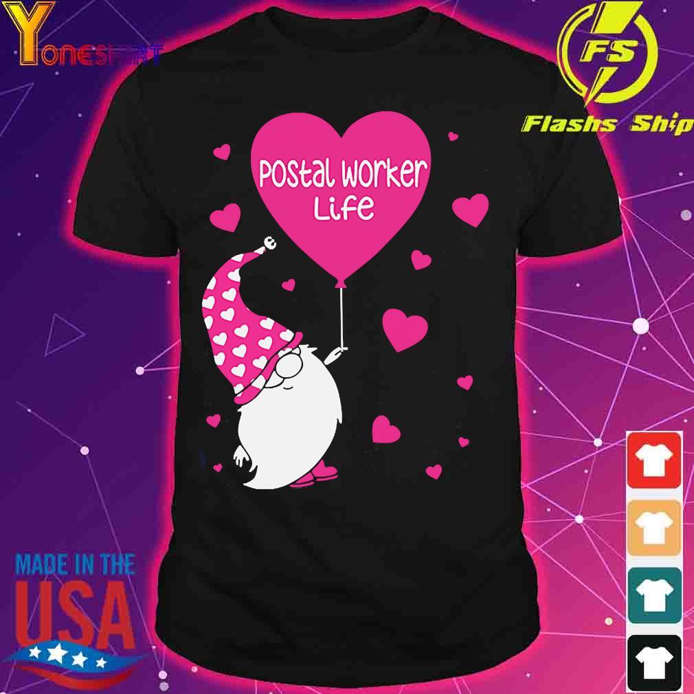 Gnome Postal worker life shirt