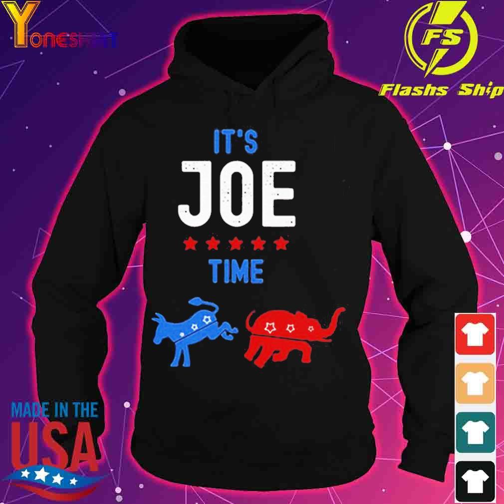 Its Joe time Donkey kick Elephant s hoodie