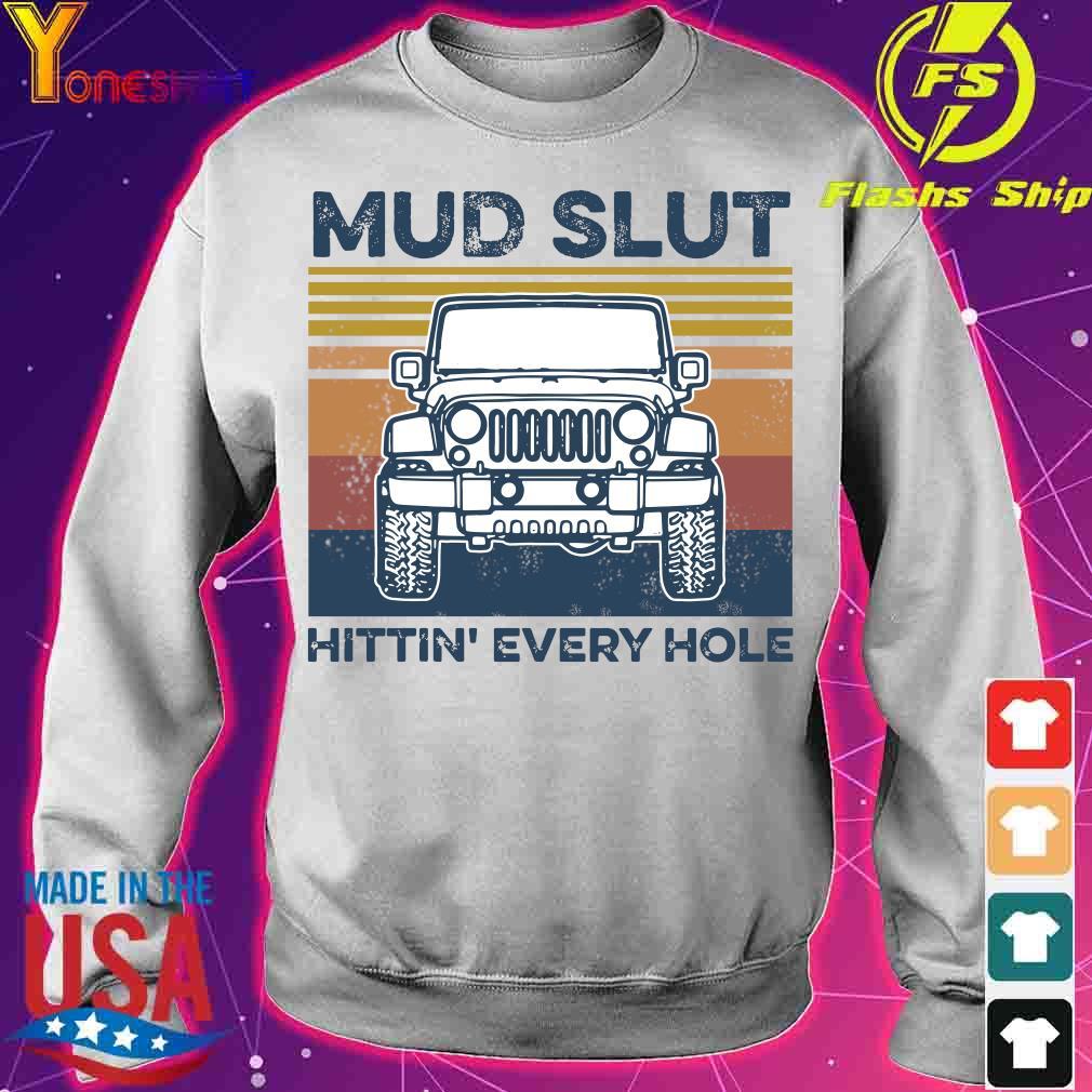 Jeep Mud slut hitting' every hole vintage s sweater
