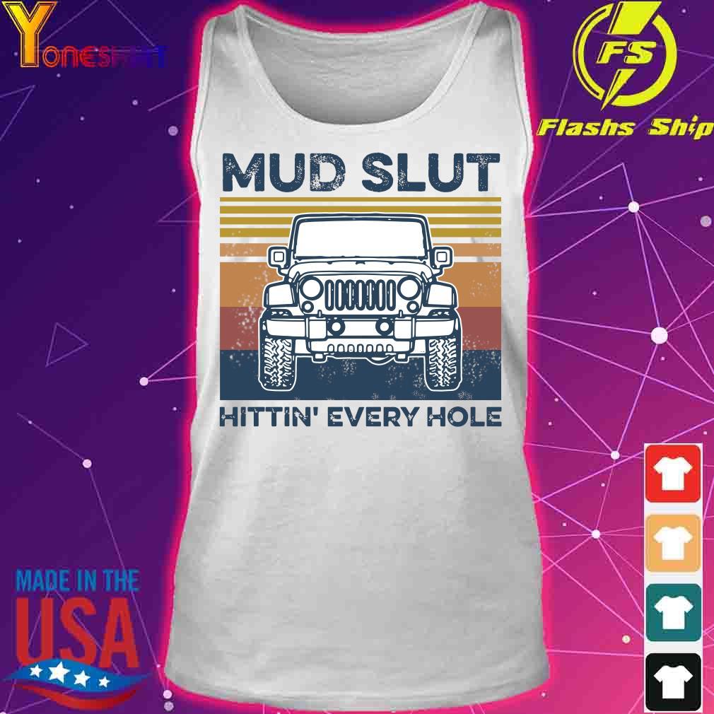 Jeep Mud slut hitting' every hole vintage s tank top
