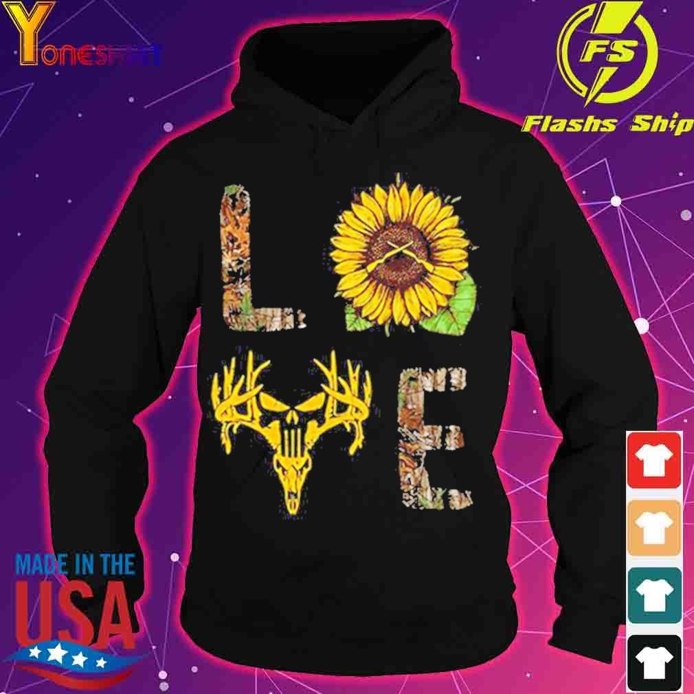 Love hunting sunflower s hoodie