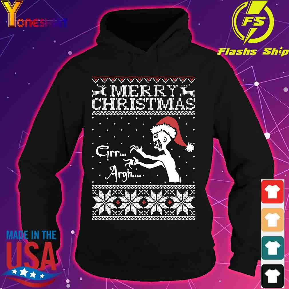 Merry Christmas Mutant Enemy Grr Argh Ugly Christmas Sweater hoodie