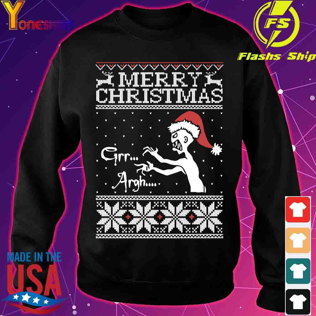 Merry Christmas Mutant Enemy Grr Argh Ugly Christmas Sweater sweater