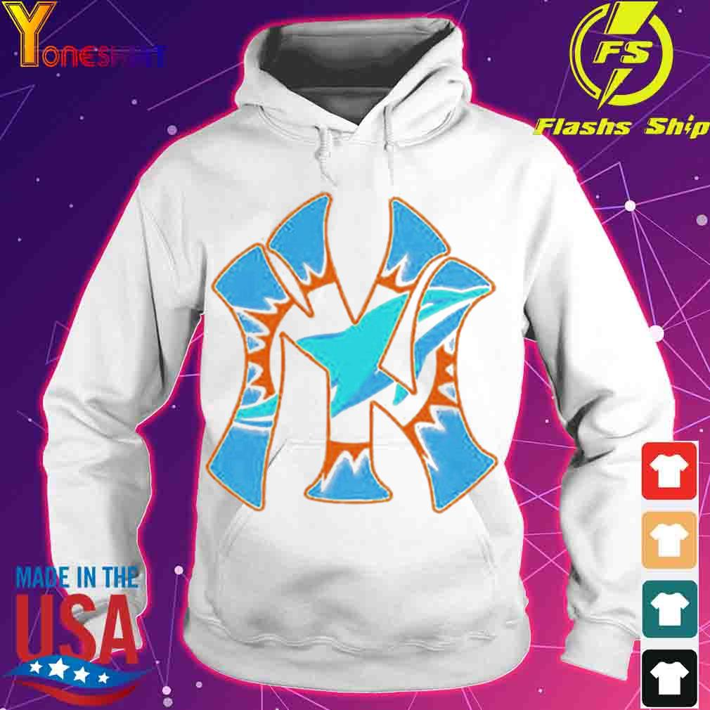 New York Yankees Miami Dolphins s hoodie