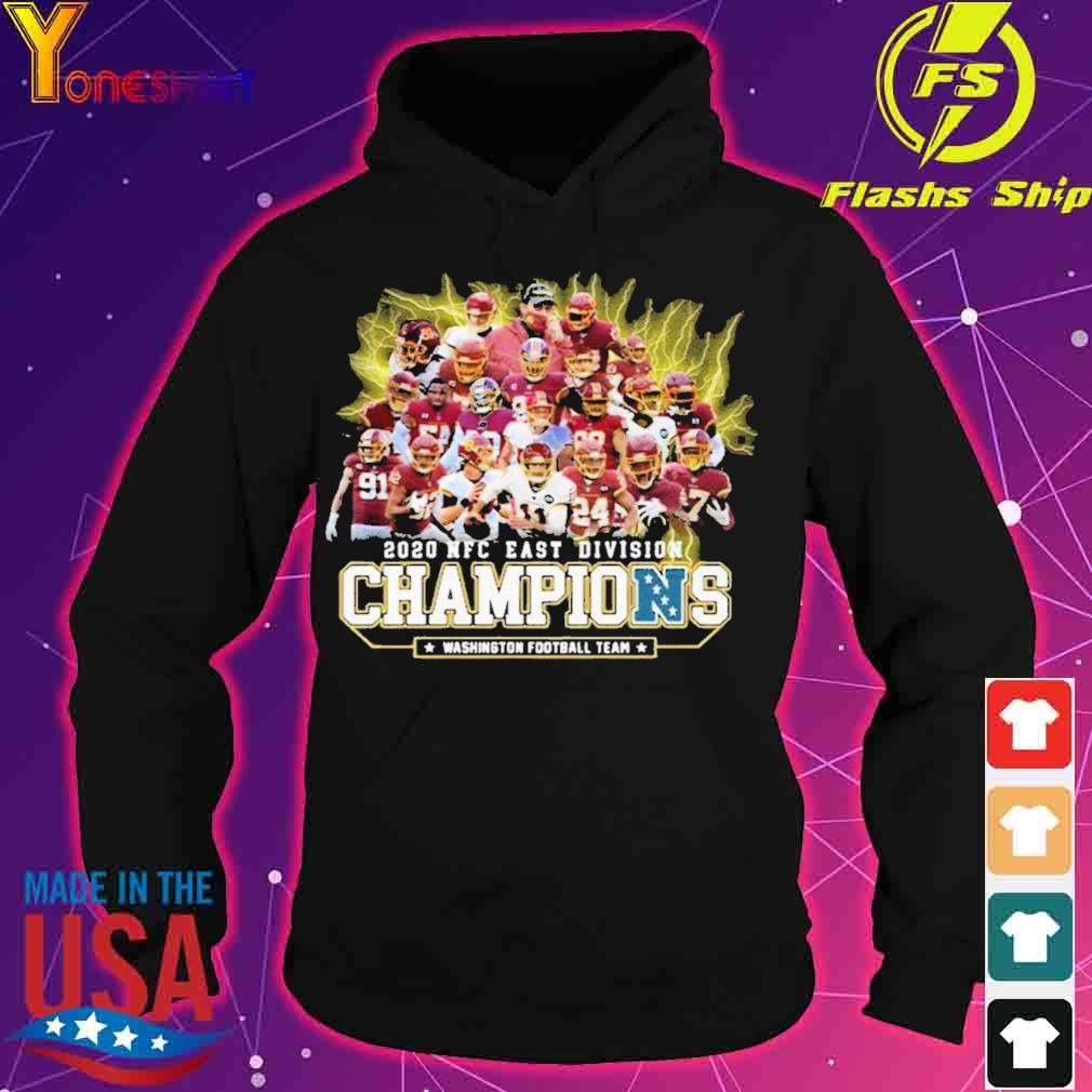 Official 2020 Nfc East Division Champions Washington Football Team Signatures Shirt hoodie