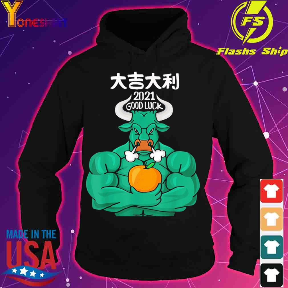 Official 2021 Good Luck – The Ox 2021 – Happy Chinese New Year 2021 Shirt hoodie