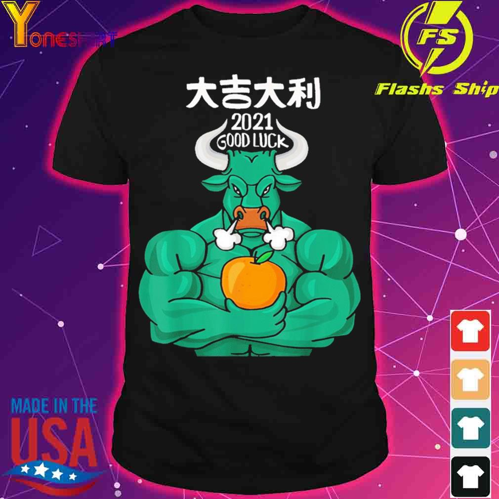 Official 2021 Good Luck – The Ox 2021 – Happy Chinese New Year 2021 Shirt