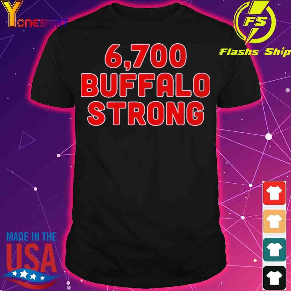 Official 6,700 Buffalo Strong Shirt