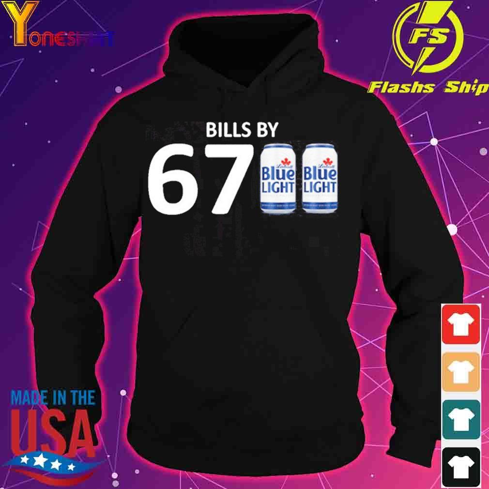 Official Bills By 6700 Shirt – Bills By 67 Blue Light Shirt – Buffalo Bills – Labatt Blue Light hoodie