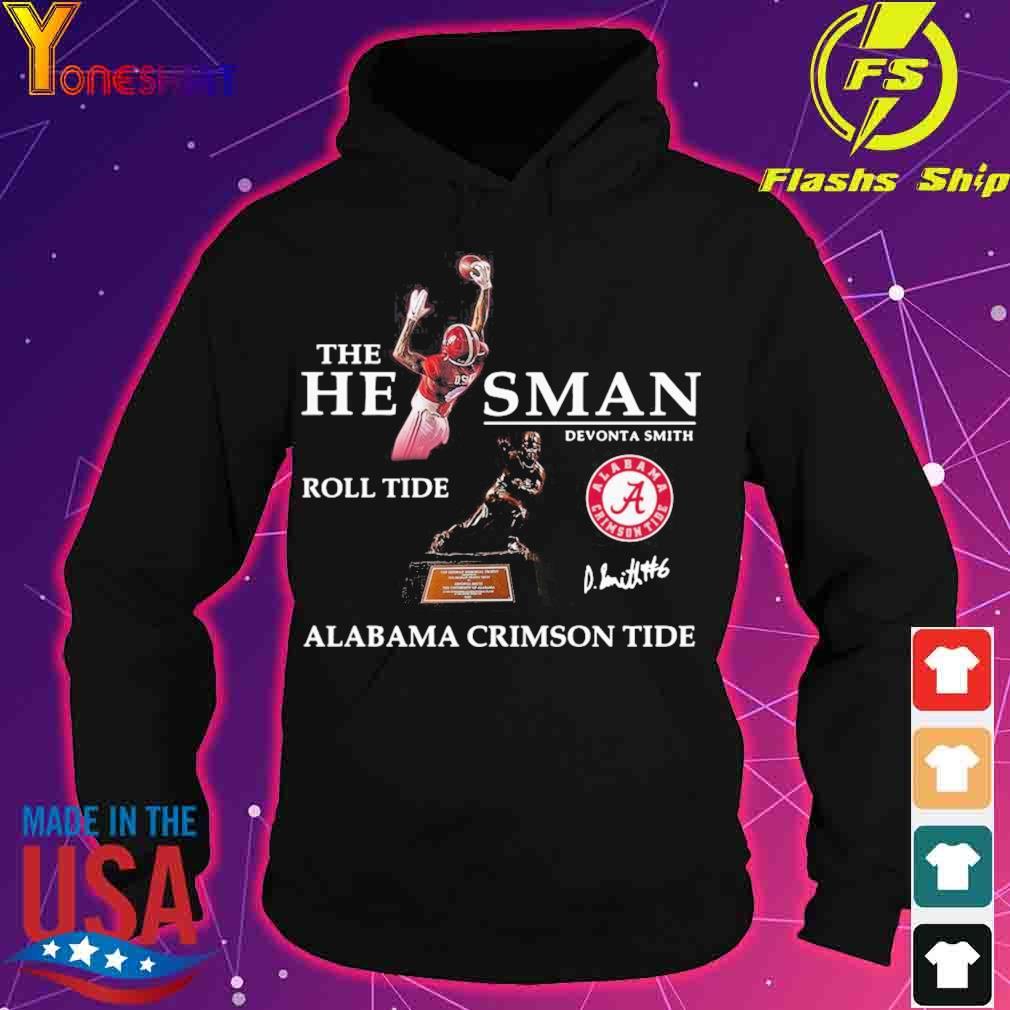 Official The He Man Devonta Smith Roll Tide Alabama Crimson Tide Signature Shirt hoodie