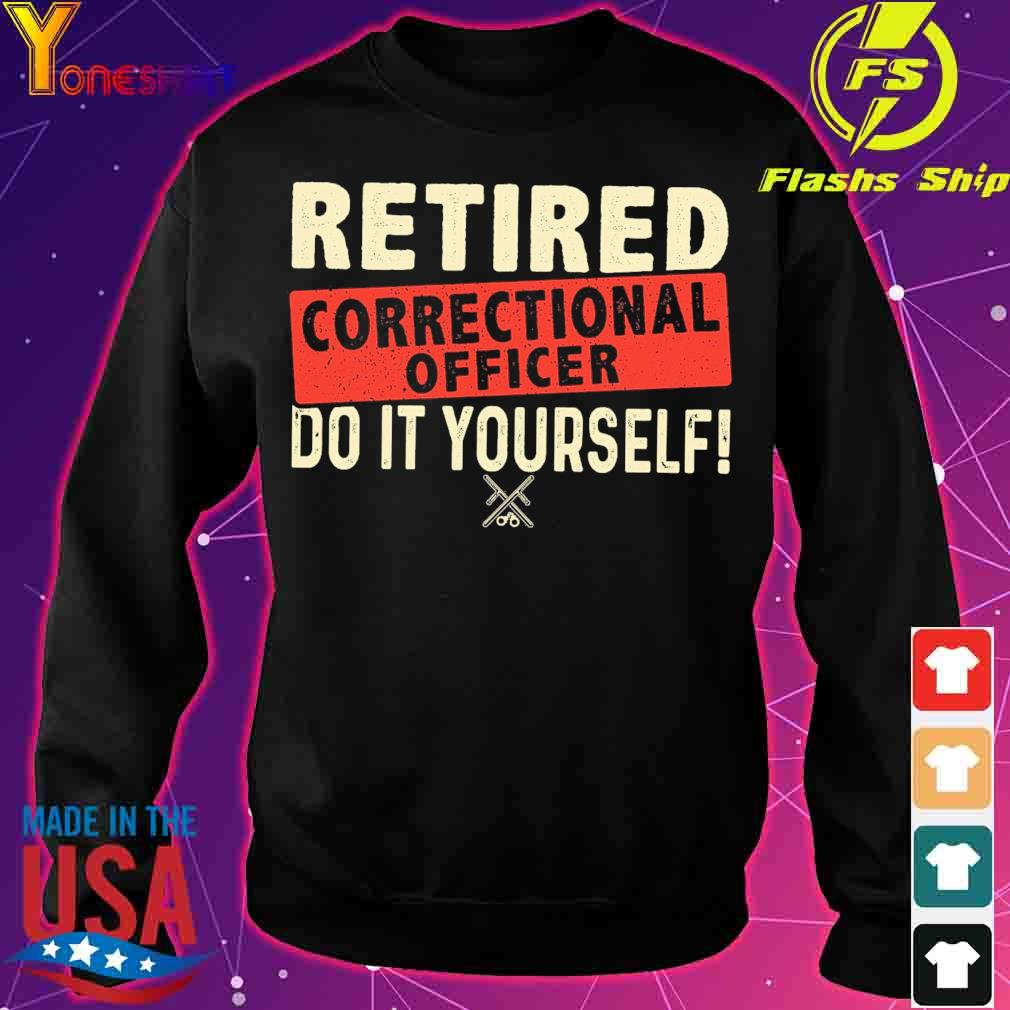 Retired correctional officer do it yourself s sweater