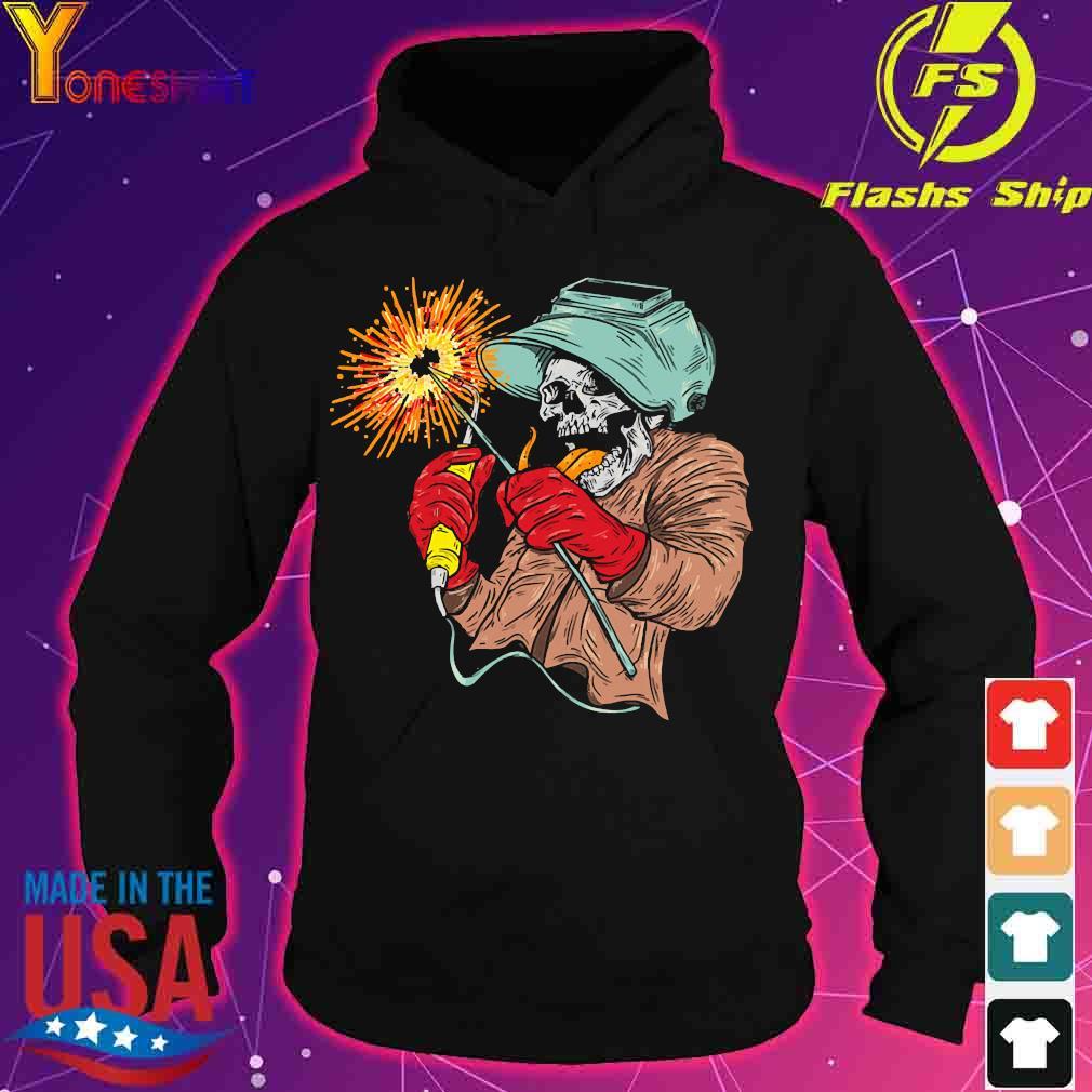Skull Welder s hoodie