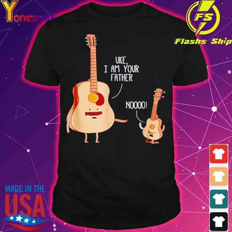 2021 Uke I Am Your Father Guitar Nooo shirt